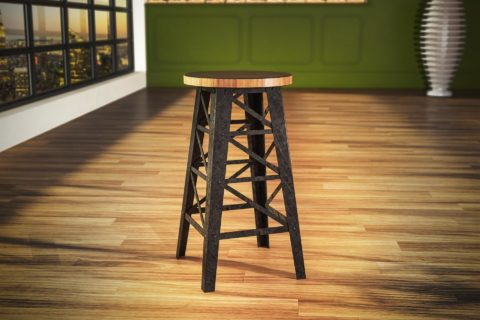 Tower stool